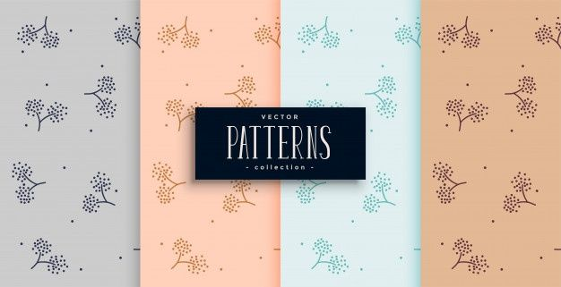 Photo of Download Elegant Flower Style Fabric Pattern Background Set for free