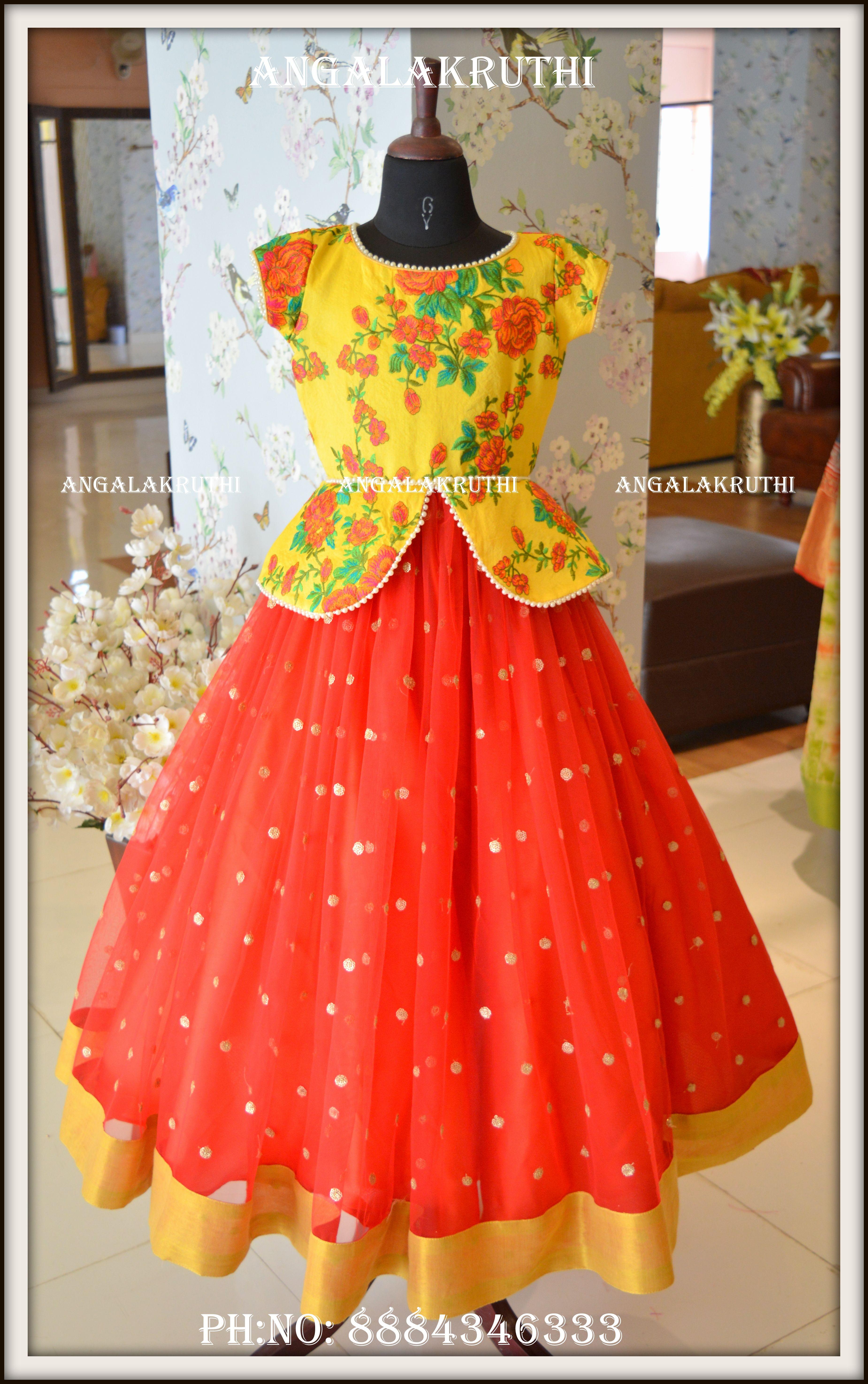 Kids Lehenga Blouse Kids Blouse Designs Kids Frocks Design Kids Designer Dresses