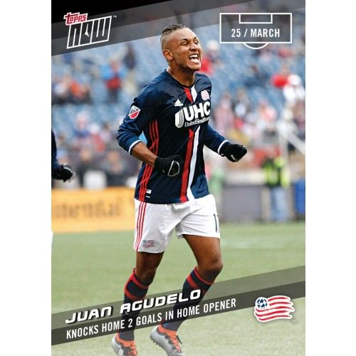 JUAN AGUEDELO - 2017 MLS Topps NOW Card 11 - Print Run QTY: 50 Cards