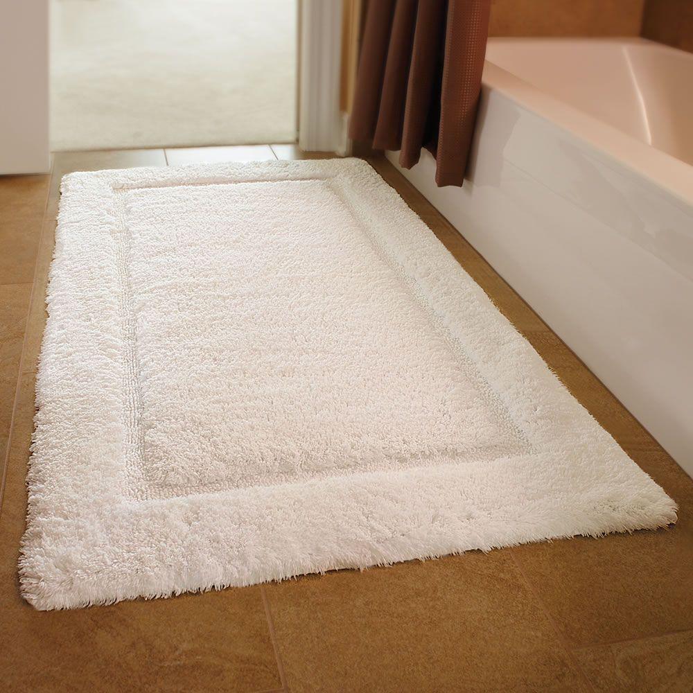 The European Luxury Spa Bath Mat  Hammacher Schlemmer  Gift Captivating Designer Bathroom Mats Design Decoration