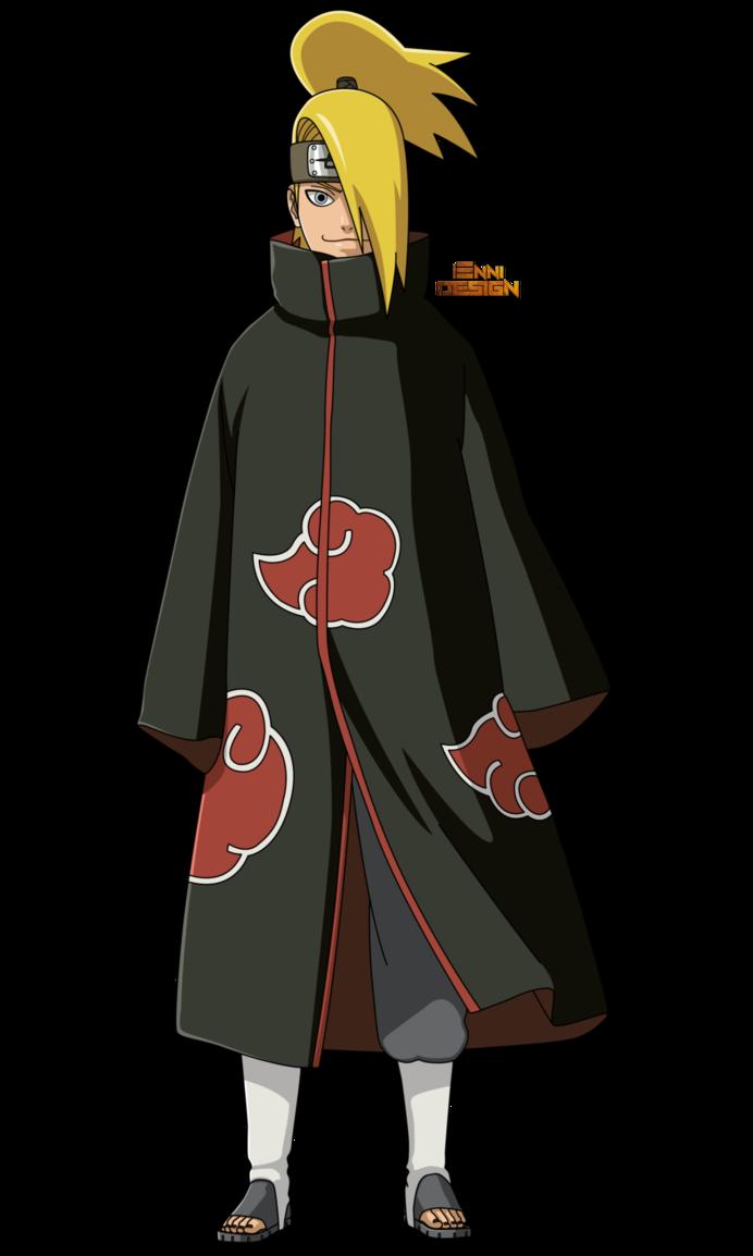 Naruto Shippuden|Deidara (Akatsuki) by iEnniDESIGN