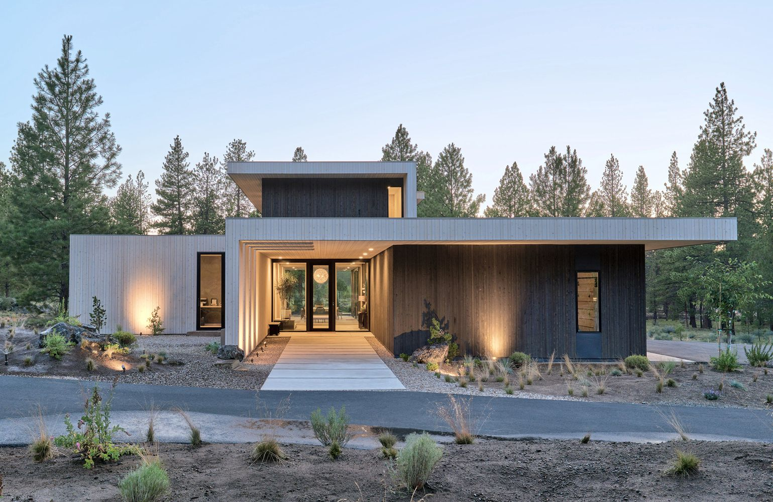 Galeria De Casa Valentine Eric Meglasson Architect Lightfoot A D 1 In 2020 Modern Residential Architecture Architecture Design Architecture