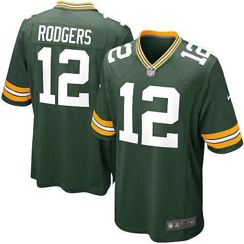 NEW Aaron RODGERS Green Bay Packers #12 American Football Limited NFL Jersey
