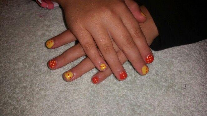 Fun! Orange and yellow