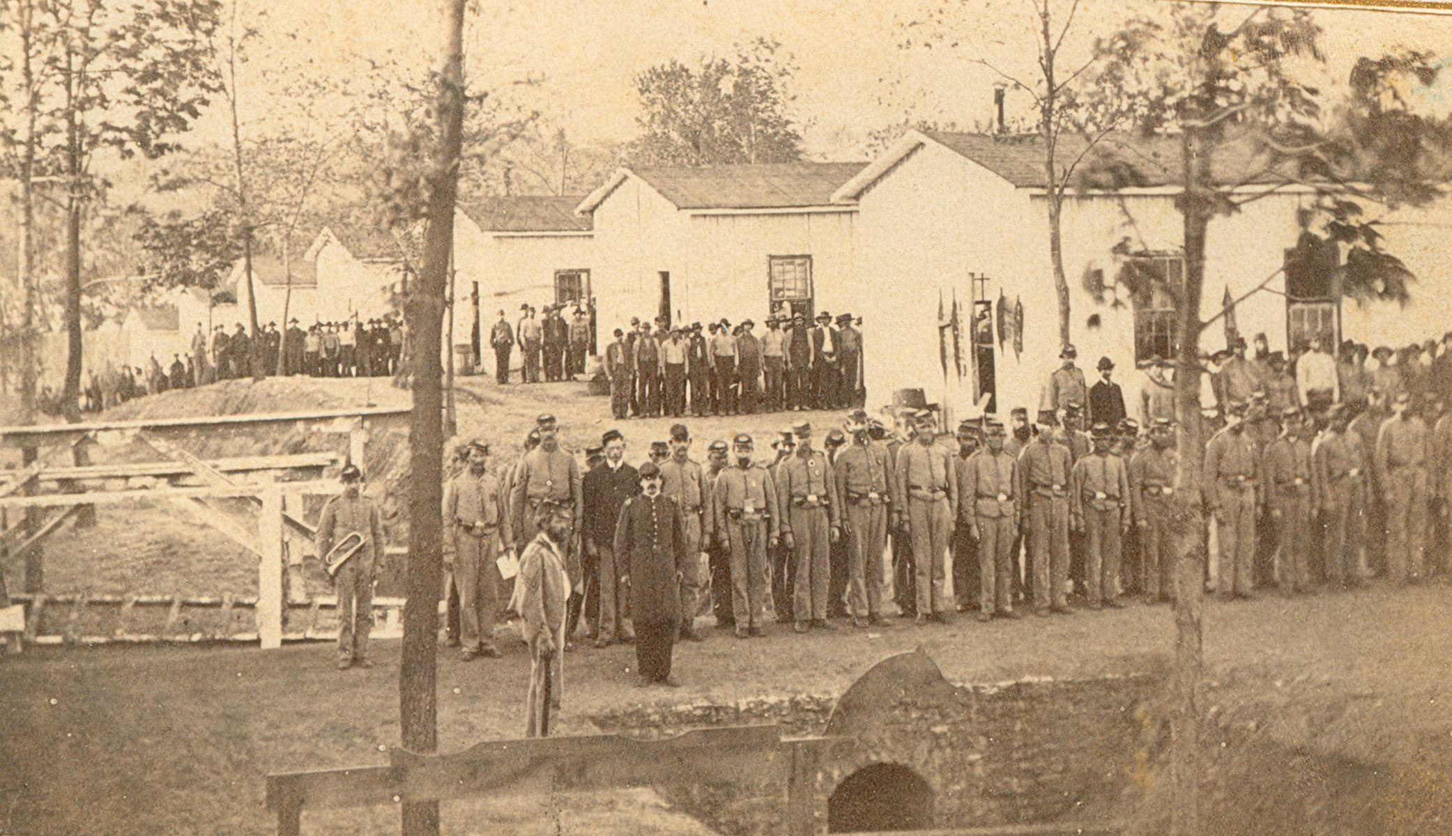 Pin By Mike Vandemark On Civil War Era American Civil War Mexican American War Prisoner Of War Camp