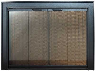Pw Gallery Glass Fireplace Door Standard Finishes 1000 Yancy