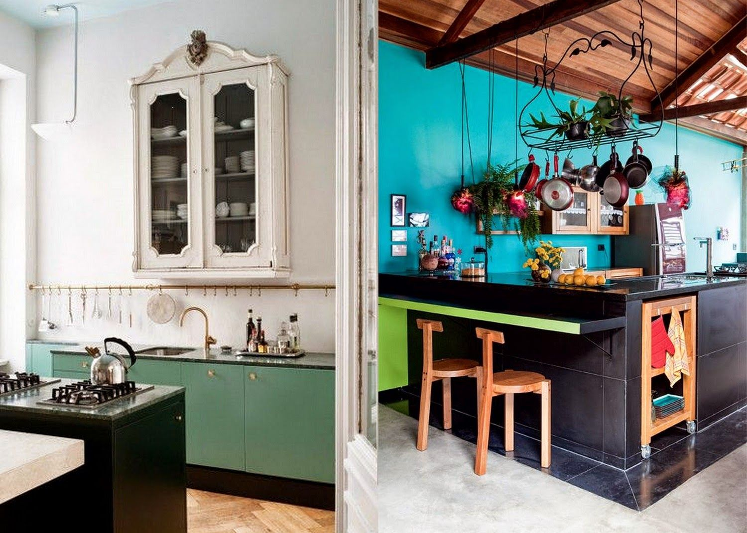 Uncategorized Bohemian Kitchen Design the modern bohemian black kitchen homeinterior pinterest kitchen