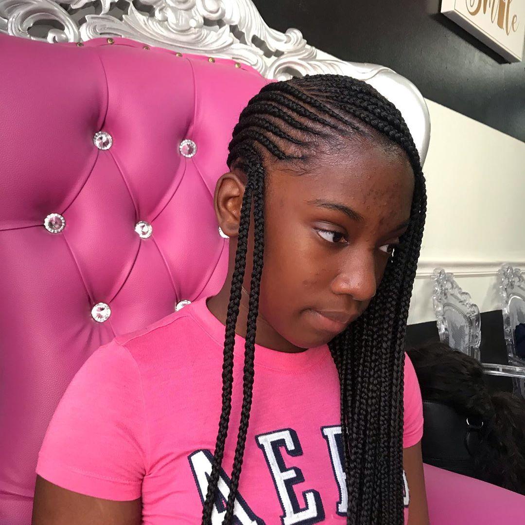 Feigen Ricotta Und Bohnen Aus Dem Ofen Kids Braided Hairstyles Kids Hairstyles Braided Hairstyles For Black Women Cornrows