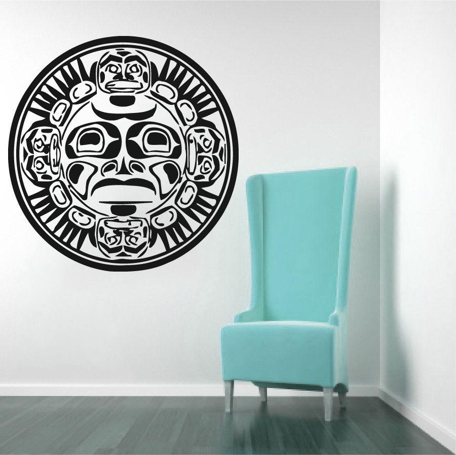 Free Shipping Home Decor Yoga Mandala Buddha Indian Om Stickers Vinyl PVC Removable Decals CW-64