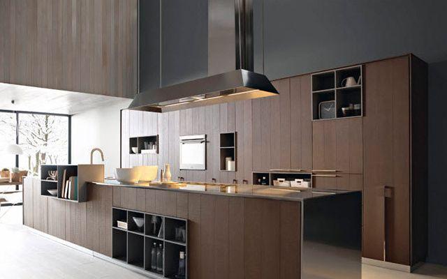 Cocinas contemporáneas de madera | Cucines | Pinterest | Cocina ...