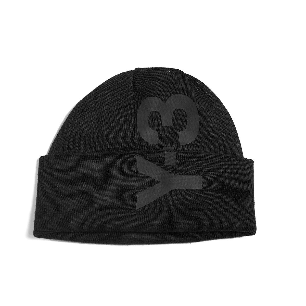 Logo beanie from the F W2016-17 Y-3 by Yohji Yamamoto collection in ... 155989b523977