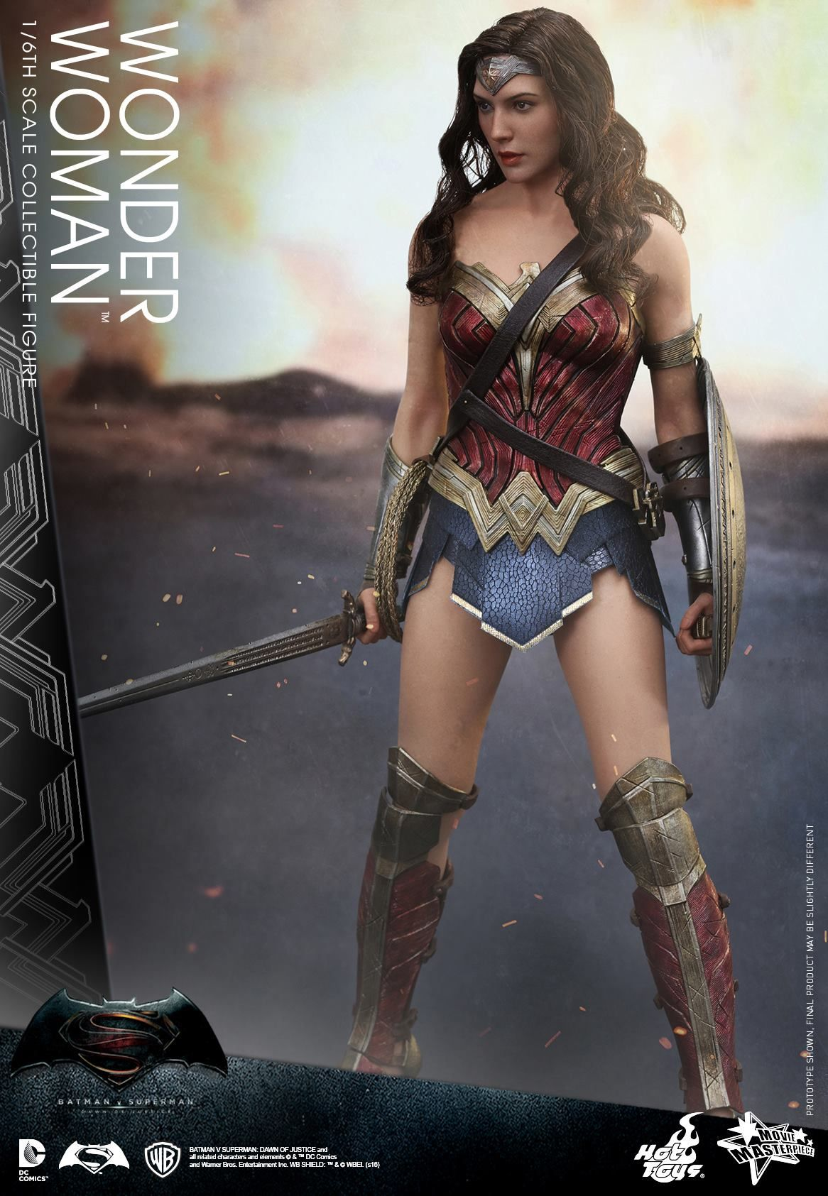 Hot Toys Bvs Wonder Woman 001  Actress  Batman Vs -5931