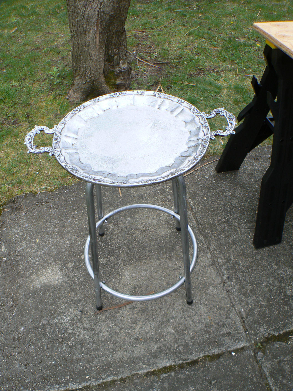 Repurposed Silver Plate Tray