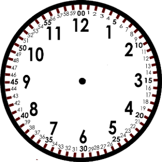 Blank Clock Template - Here is a clock I created to show ...