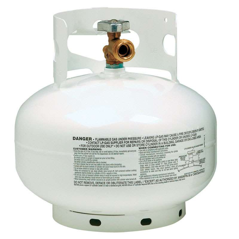 Flame King 5 Lbs Empty Propane Cylinder With Overfill Protection Device Ysn5lb The Home Depot Propane Cylinder Propane Propane Tank