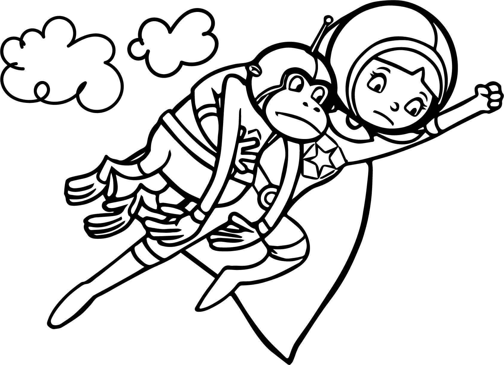 Nice Word Girl Super Why Coloring Page Super Coloring Pages