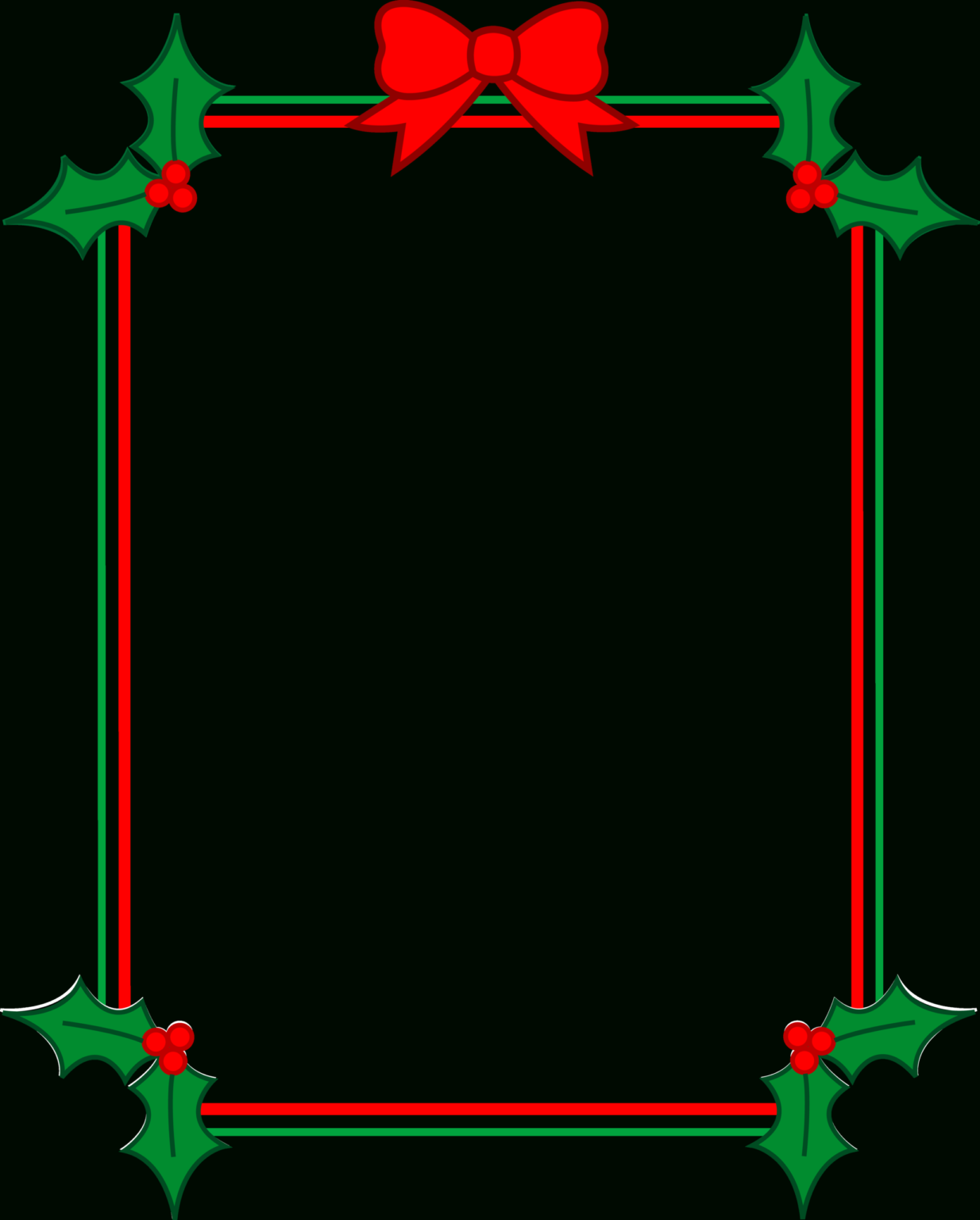 Library Of Word Svg Freeuse Library Christmas Borders Png Inside Word Border Templates Free Download Christmas Border Clip Art Borders Word Template