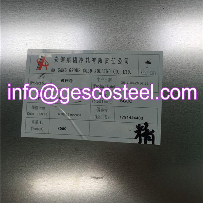 Galvanized Steel Ppgi Galvanized Steel Galvanized Roofing Galvanized Steel Sheet