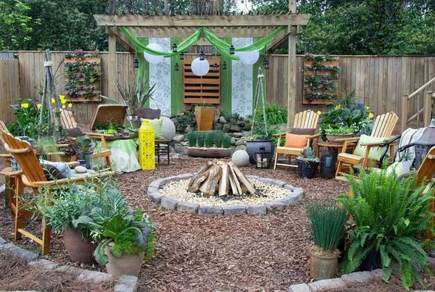 Pin by Fearn Kateche on My home | No grass backyard, Cheap ... on Cheap Backyard Ideas No Grass  id=27780