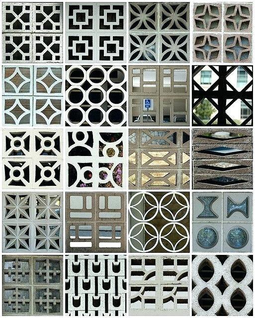 Concrete Screen Wall Blocks Concrete Block By Via Love These Old