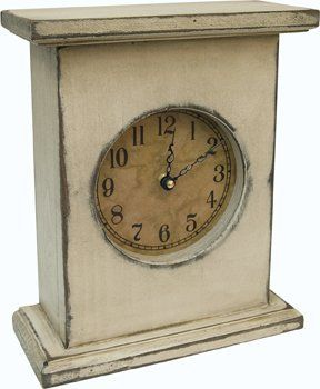 Primitive Wood Country Rustic Mantel Clock Rustic Clock Rustic Mantel Mantel Clock
