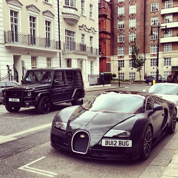 My Cars Curbside Bugatti Veyron U0026 Mercedes Benz G Wagon