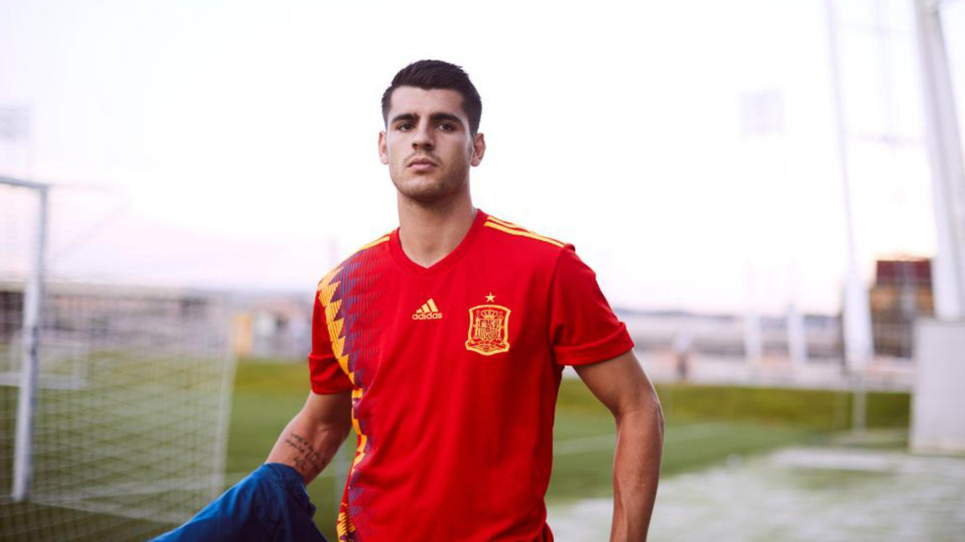 Spain World Cup 2018 kit New retro Adidas design