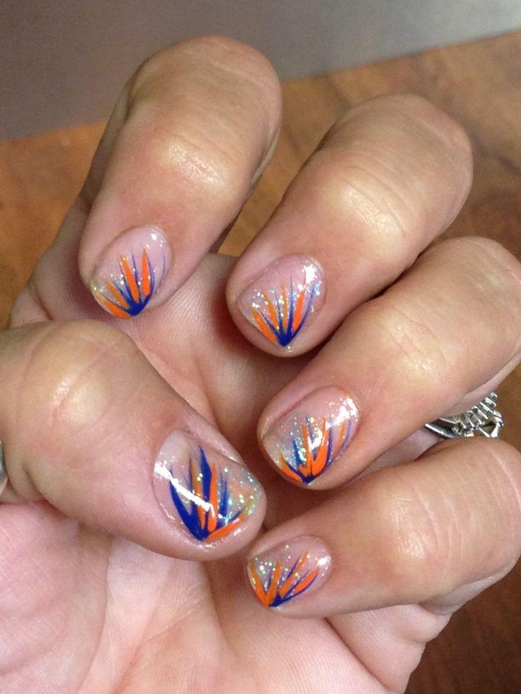 Nail Design, Nail Art, Nail Salon, Irvine, Newport Beach - Go Gators! Nail Design, Nail Art, Nail Salon, Irvine, Newport Beach