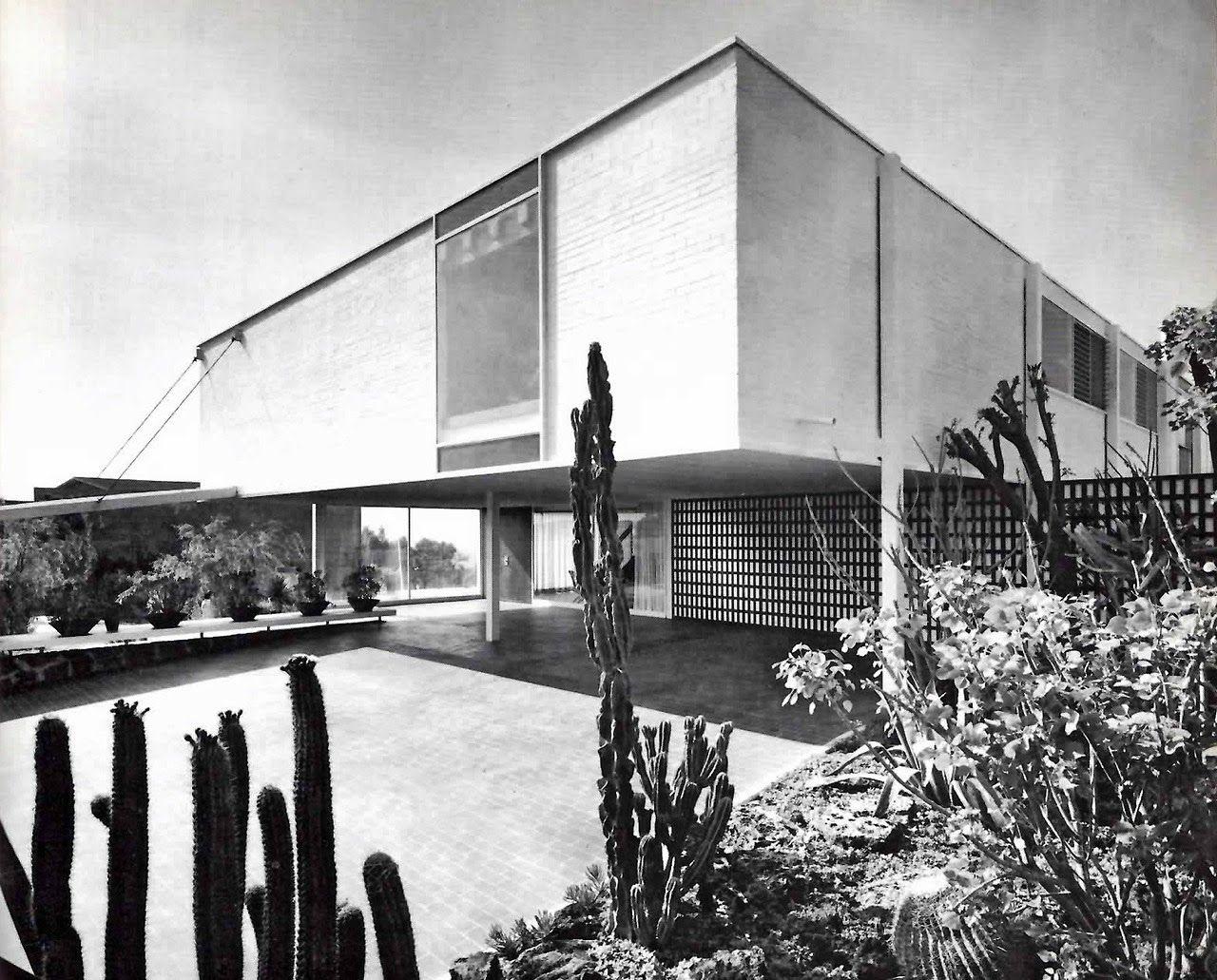 La forma moderna en latinoam rica el pedregal de san for Arquitectura mexicana moderna