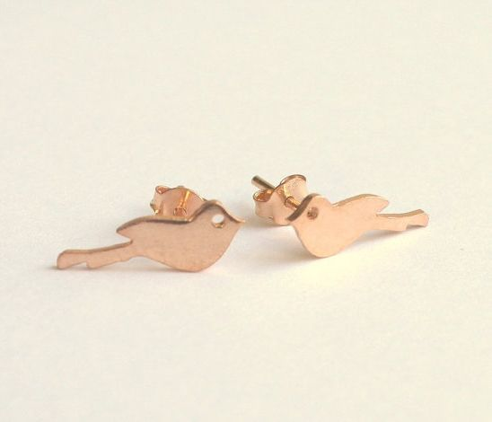 Lovebird Earrings  by meltemsem