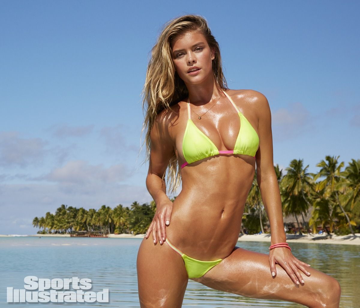 Camille Kostek Si Blue: Sports Illustrated Swimsuit