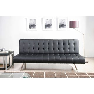 For Abbyson Living Milan Futon Sleeper Sofa Bed Get Free Shipping At
