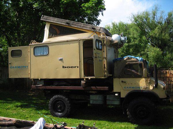 1960 Mercdes Benz Unimog 404 Camper Expedition Portal Unimog
