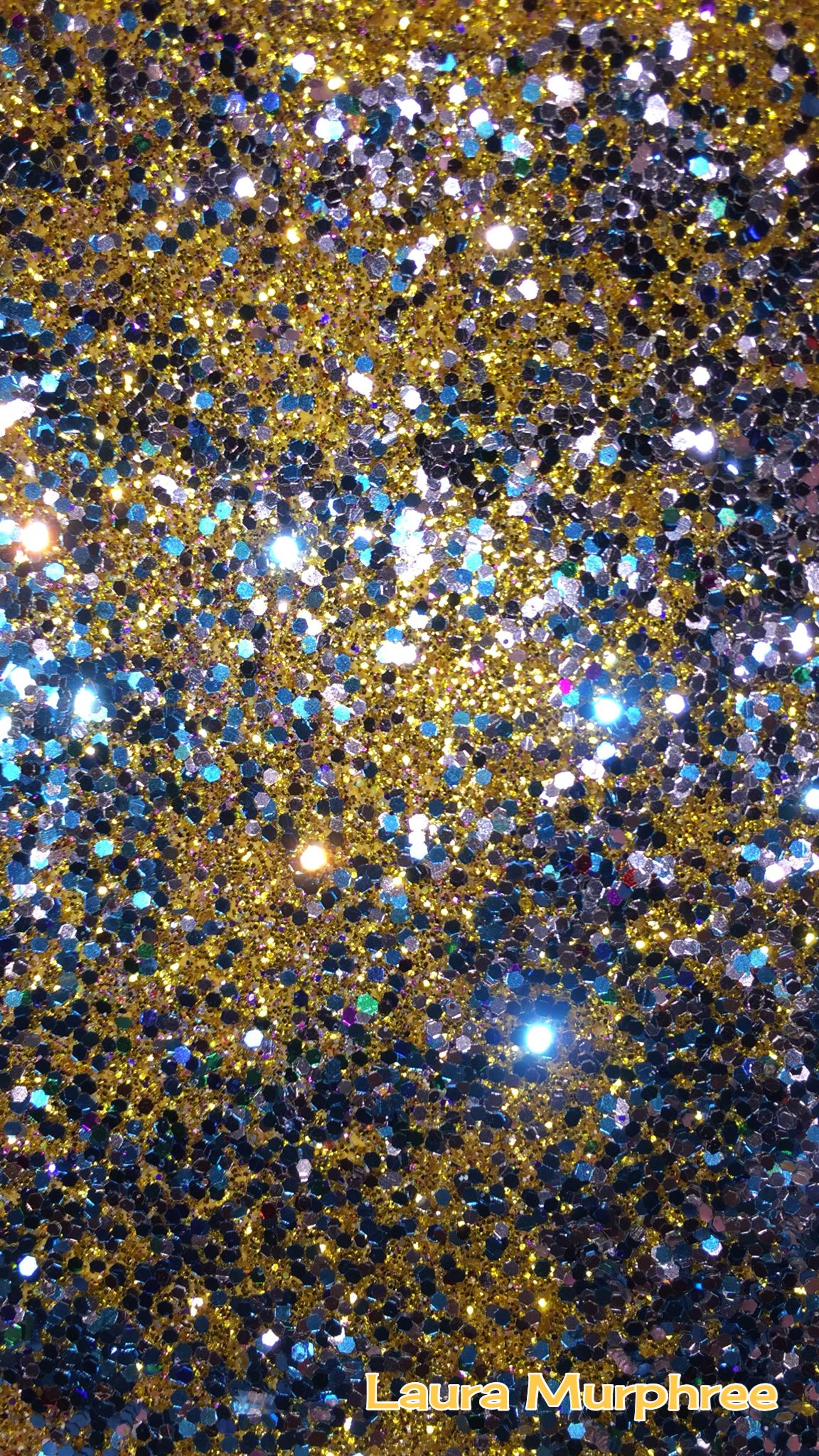 Glitter Phone Wallpaper Sparkle Background Colorful Silver Gold Blue