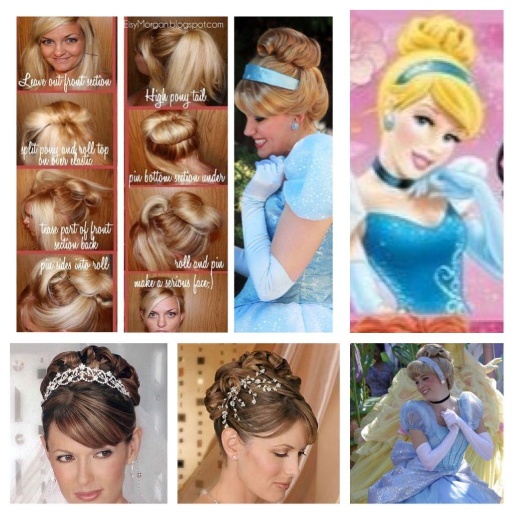 Pin By Jaime R On Princesses Cinderella Hair Disney Hairstyles Disney Princess Hairstyles