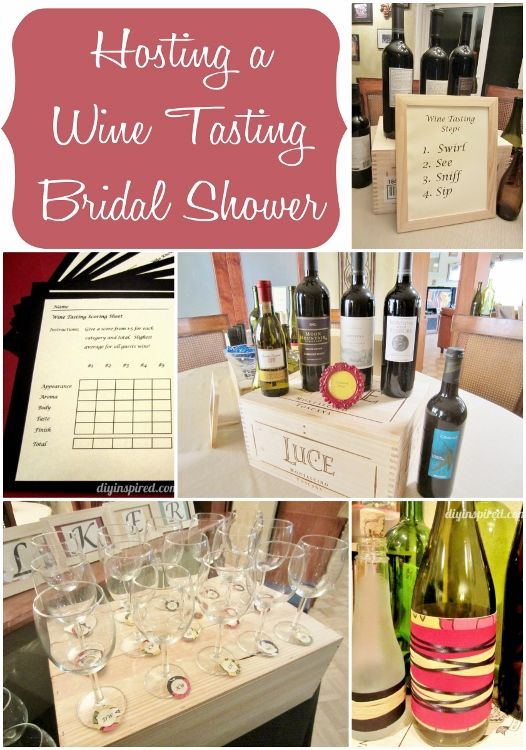 everything you need to know about hosting a wine tasting bridal shower party