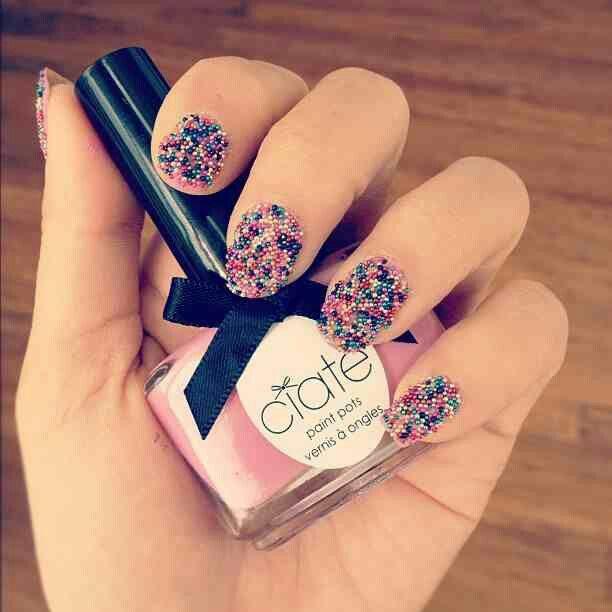 Ciate Bead Nails: Rainbow Caviar Manicure Set By Ciate