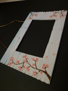 Photo Frame Using Ice Cream Sticks Never Thought That I Have The Chance To Get On Hands With Kids Craft Again But