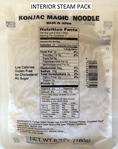 Easy To Prepare No Boiling Shirataki Magic Noodles 4 P Low Calorie How To Eat Paleo Gourmet Recipes
