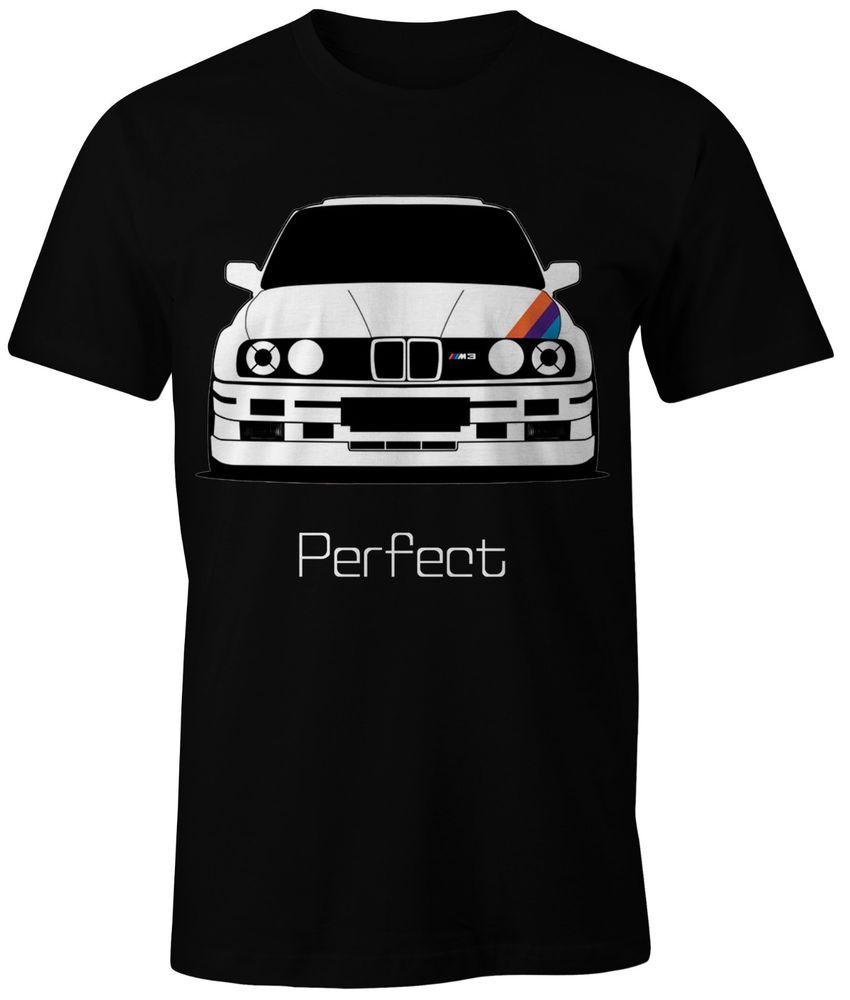 New T Shirt Bmw M Power M3 E30 Perfect On White Black And Blue Shirts Bayerische Motoren Werke Bayerische