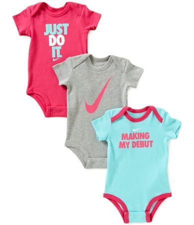 Shop For Nike Baby Girls Newborn 12 Months Making My Debut 3 Pack