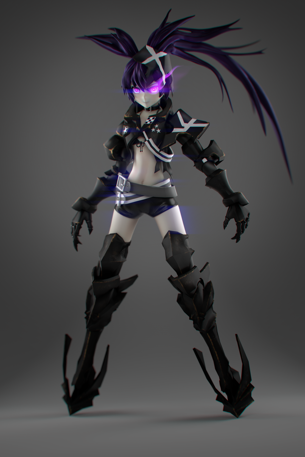 rock Insane shooter cosplay black