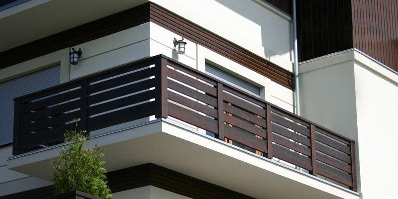 Balustrady Drewniane Balkon System Balcony Grill Design