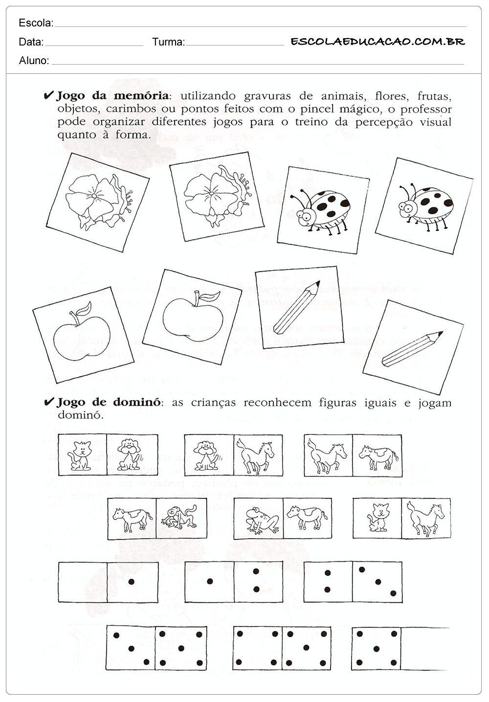 Atividades De Classificacao E Seriacao Com Imagens Sala De