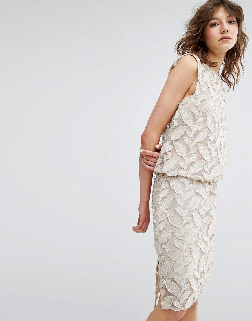 Image of samsoe u samsoe mayer applique dress shopping list