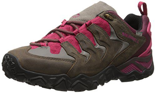 Capra Mid Gore-Tex, Zapatos de High Rise Senderismo para Mujer, Verde (Sea Pine), 40 EU Merrell