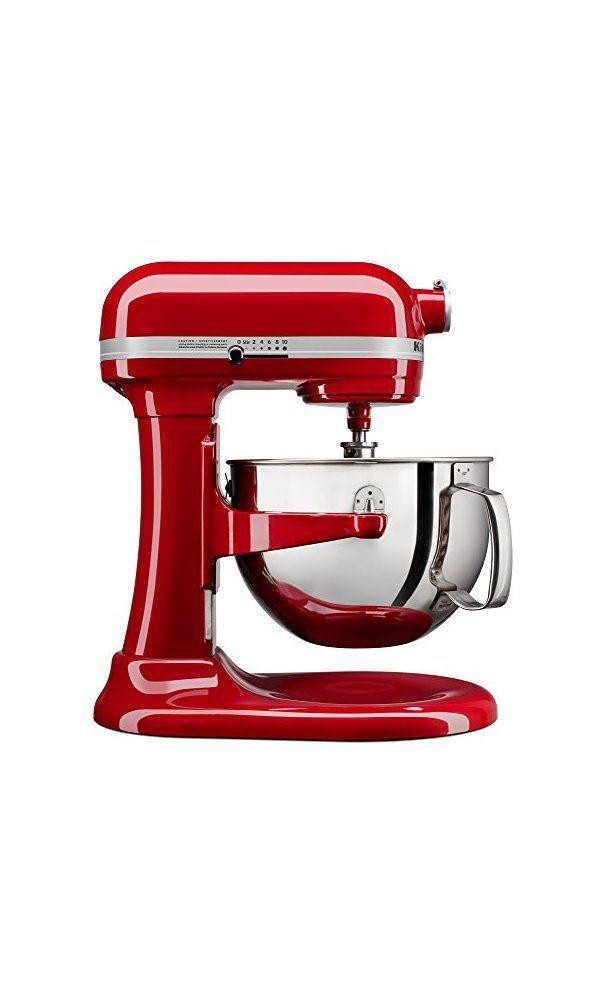 KitchenAid KL26M1XER Professional 6-Qt. Bowl-Lift Stand Mixer ... on 6 qt kettle, kitchenaid pro 500 mixer, kitchenaid professional mixer, 6 qt crockpot, 6 qt ice cream maker,
