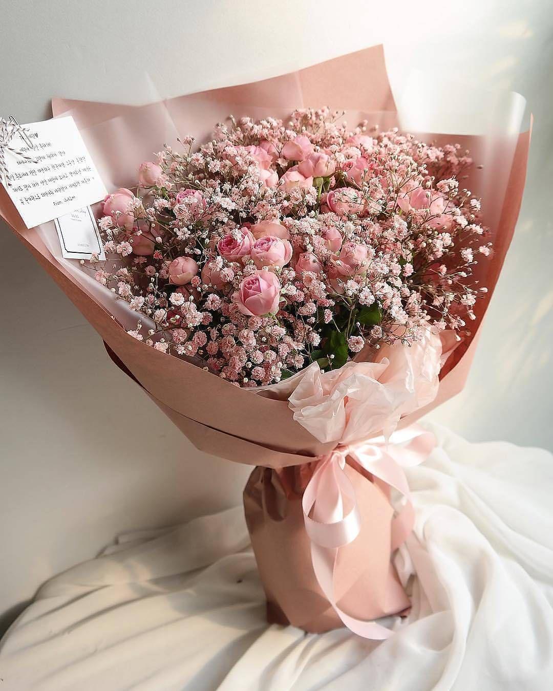 Милые букеты цветов фото