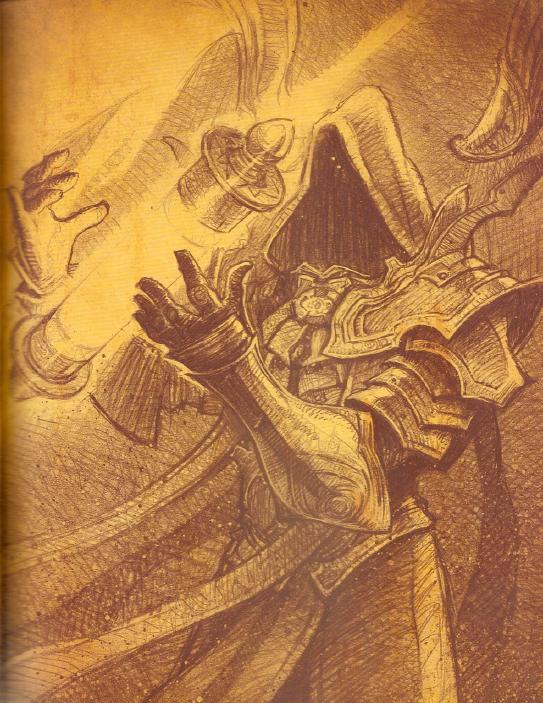b1b70a73db4c87042f07268783999322 - Hero Concept: Itherael, Archangel of Fate