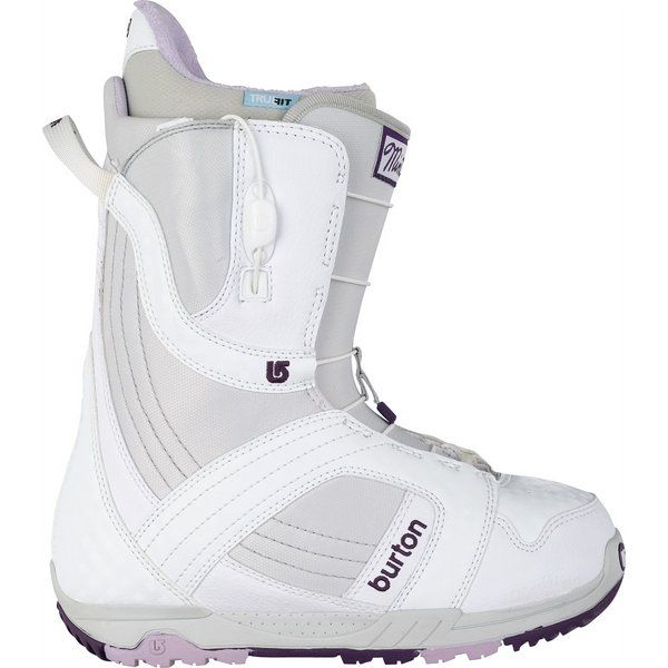 fd05d227183 On Sale Burton Mint Snowboard Boots White/Gray/Purple - Womens up to 40% off